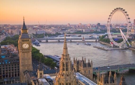 Мистические места Лондона на Темзе